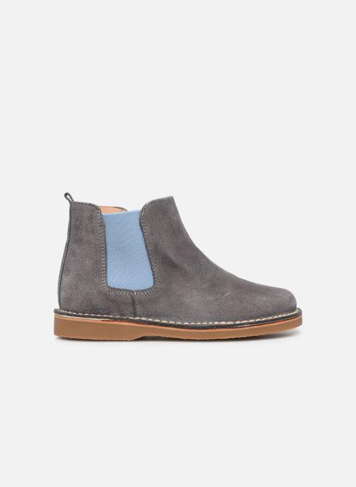 Boots en enkellaarsjes Cendry Charlie Grijs achterkant
