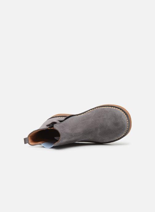 Bottines et boots Cendry Charlie Gris vue gauche