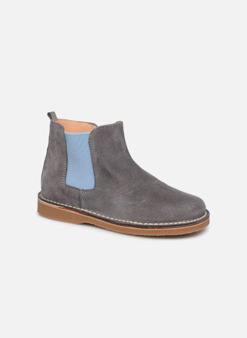 Bottines et boots Cendry Charlie Gris vue détail/paire