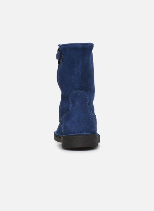 Støvler & gummistøvler Cendry Julie Blå Se fra højre