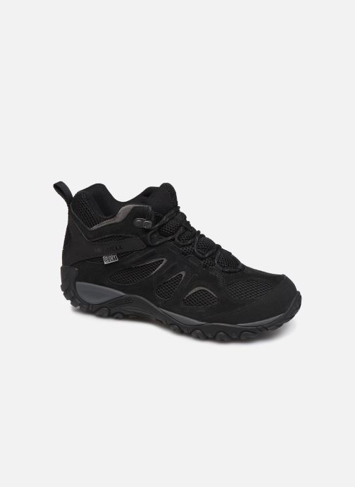 Sport shoes Merrell YOKOTA MID WP Black detailed view/ Pair view