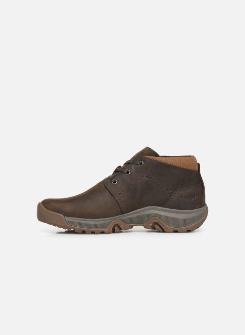 Chaussures de sport Merrell ANVIK PACE CHUKKA Marron vue face