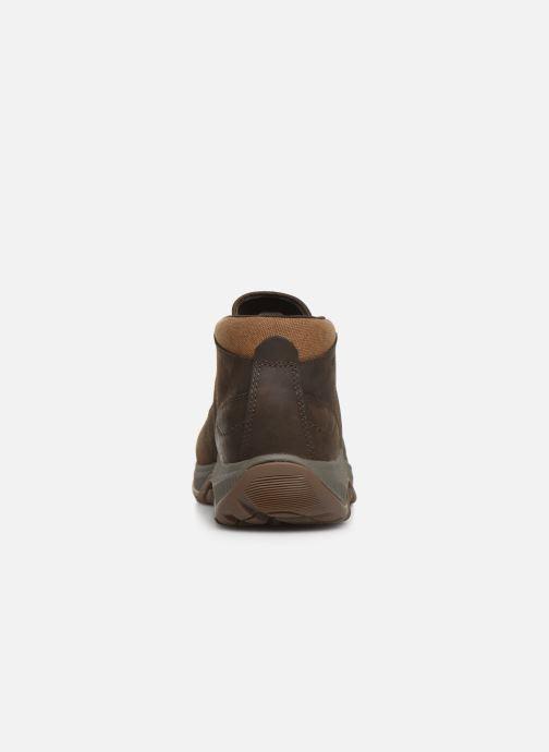 Chaussures de sport Merrell ANVIK PACE CHUKKA Marron vue droite