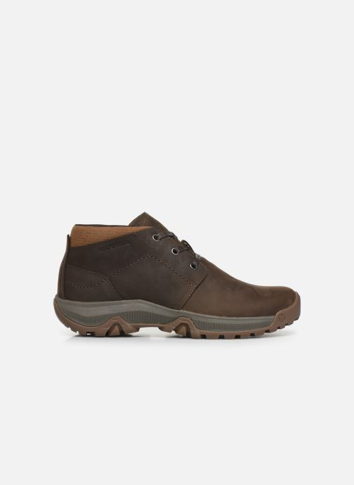 Sport shoes Merrell ANVIK PACE CHUKKA Brown back view