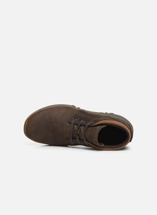Chaussures de sport Merrell ANVIK PACE CHUKKA Marron vue gauche