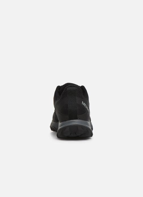 Zapatillas de deporte Merrell FIERY GTX Negro vista lateral derecha