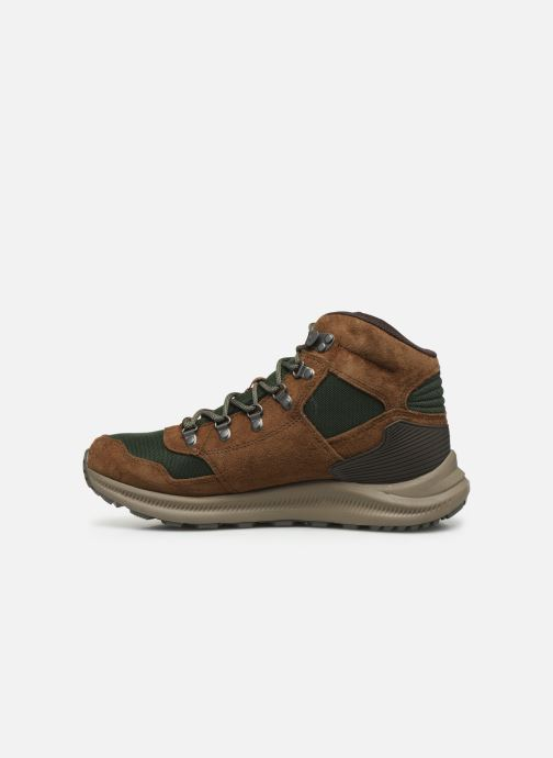 Sport shoes Merrell ONTARIO 85 MID WP Brown front view