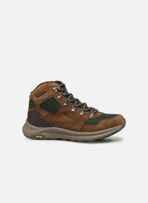 Chaussures de sport Merrell ONTARIO 85 MID WP Marron vue derrière