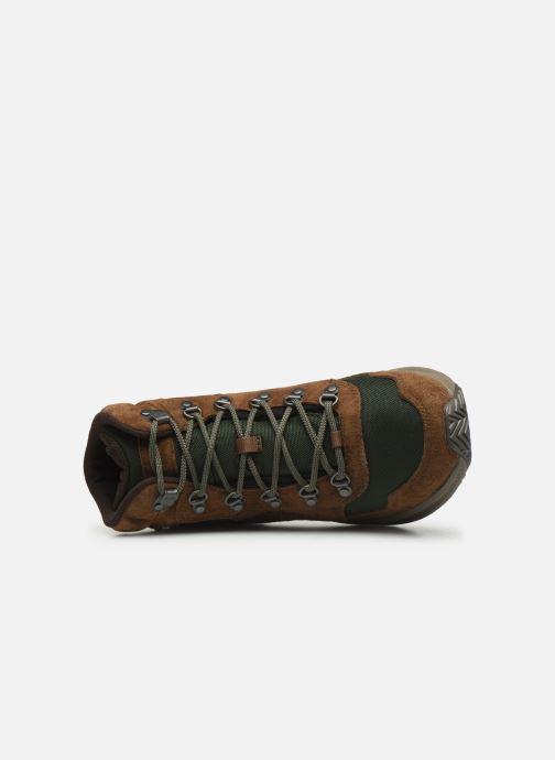 Chaussures de sport Merrell ONTARIO 85 MID WP Marron vue gauche