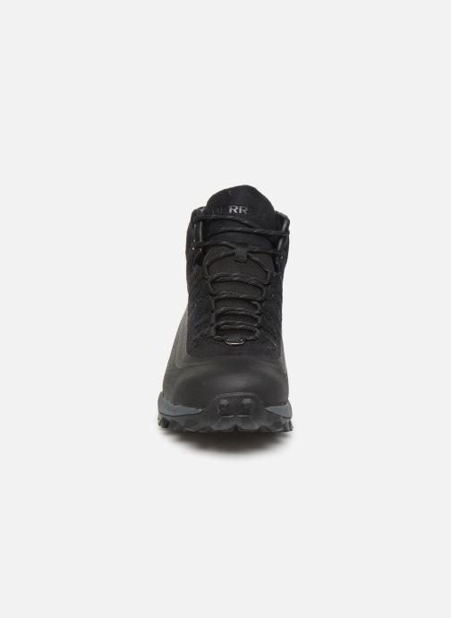 Chaussures de sport Merrell THERMO SNOWDRIFT MID SHELL WP Noir vue portées chaussures