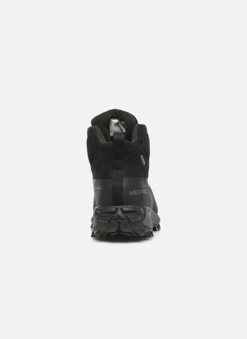 Chaussures de sport Merrell THERMO SNOWDRIFT MID SHELL WP Noir vue droite