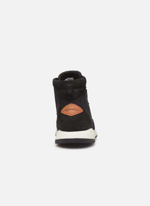 Chaussures de sport Merrell ASHFORD CLASSIC CHUKKA LTR Noir vue droite