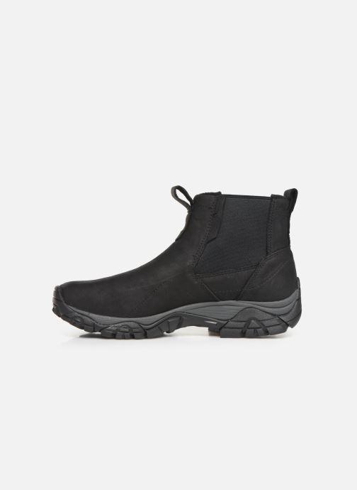 Chaussures de sport Merrell MOAB ADVENTURE CHELSEA PLR WP Noir vue face