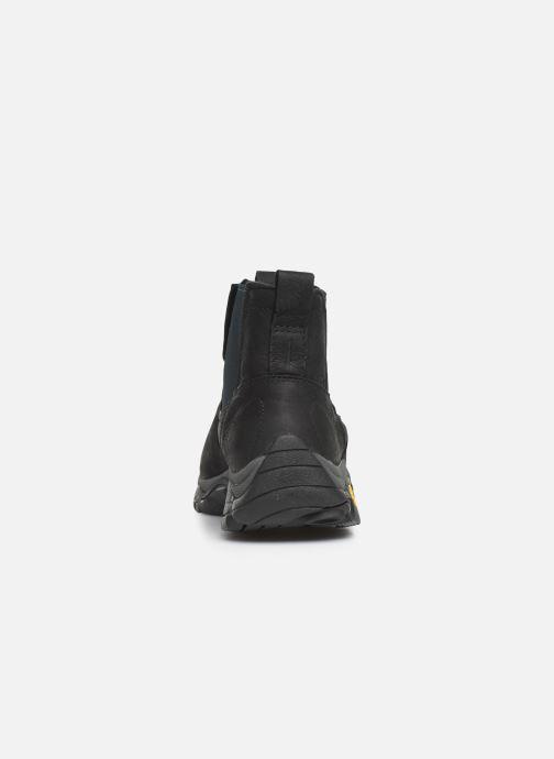 Chaussures de sport Merrell MOAB ADVENTURE CHELSEA PLR WP Noir vue droite