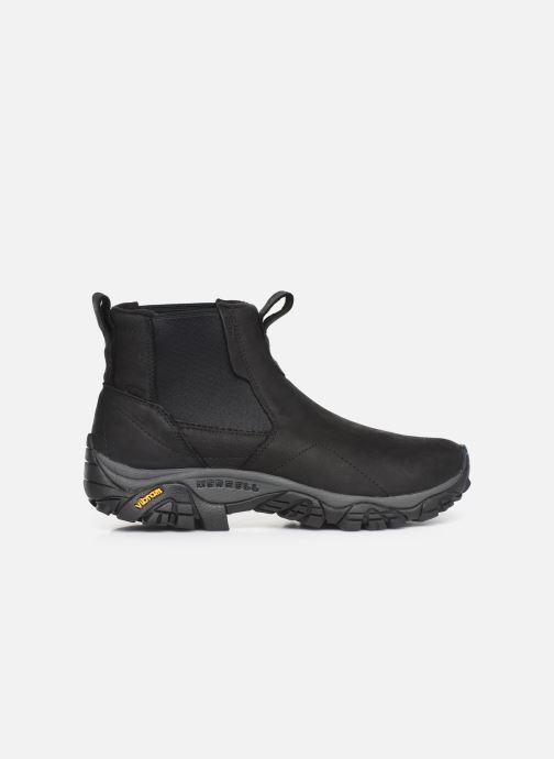 Chaussures de sport Merrell MOAB ADVENTURE CHELSEA PLR WP Noir vue derrière