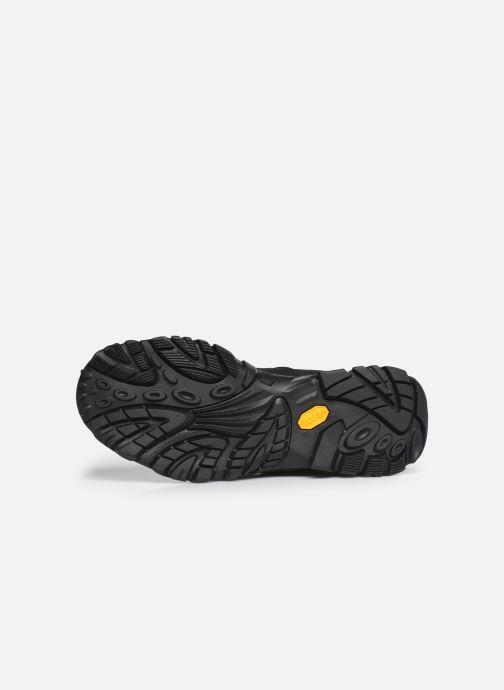 Chaussures de sport Merrell MOAB ADVENTURE CHELSEA PLR WP Noir vue haut