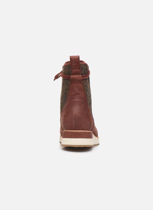Chaussures de sport Merrell ROAM MID Bordeaux vue droite
