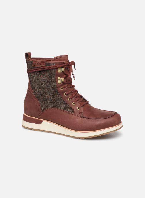 Chaussures de sport Merrell ROAM MID Bordeaux vue détail/paire