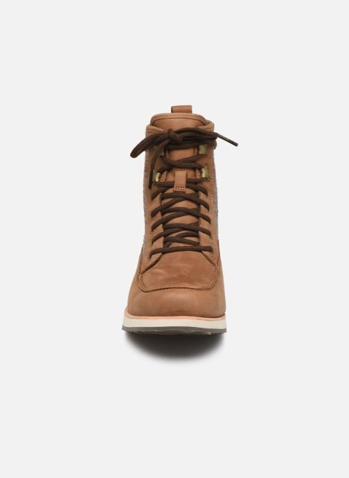 Chaussures de sport Merrell ROAM MID Marron vue portées chaussures