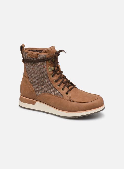Chaussures de sport Merrell ROAM MID Marron vue détail/paire