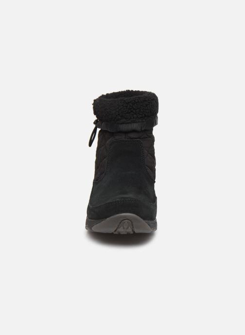 Chaussures de sport Merrell APPROACH NOVA BLUFF PLR WP Noir vue portées chaussures