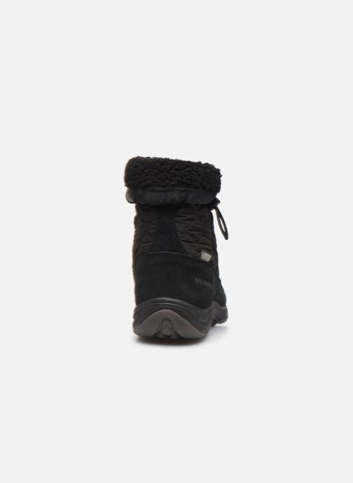 Chaussures de sport Merrell APPROACH NOVA BLUFF PLR WP Noir vue droite