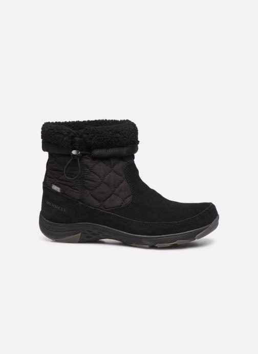 Chaussures de sport Merrell APPROACH NOVA BLUFF PLR WP Noir vue derrière