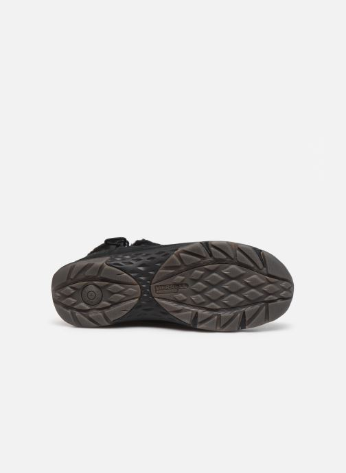 Chaussures de sport Merrell APPROACH NOVA BLUFF PLR WP Noir vue haut