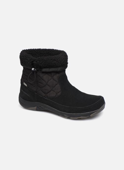 Chaussures de sport Merrell APPROACH NOVA BLUFF PLR WP Noir vue détail/paire