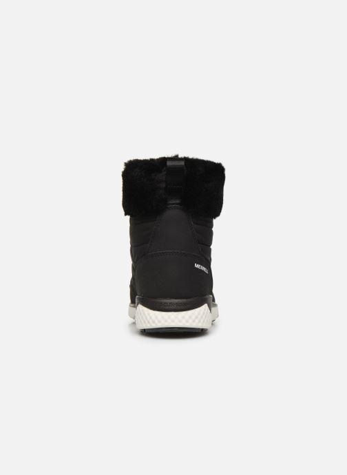 Chaussures de sport Merrell FARCHILL KEY LACE POLAR AC+ Noir vue droite