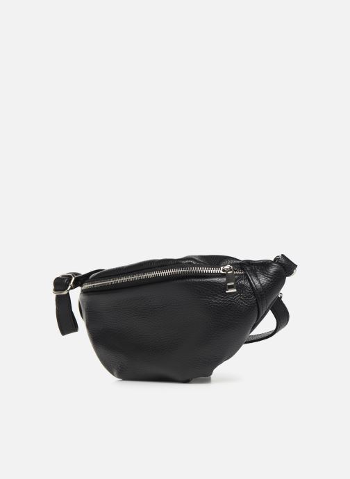 Petite Maroquinerie Georgia Rose Mabanane Leather Noir vue portées chaussures