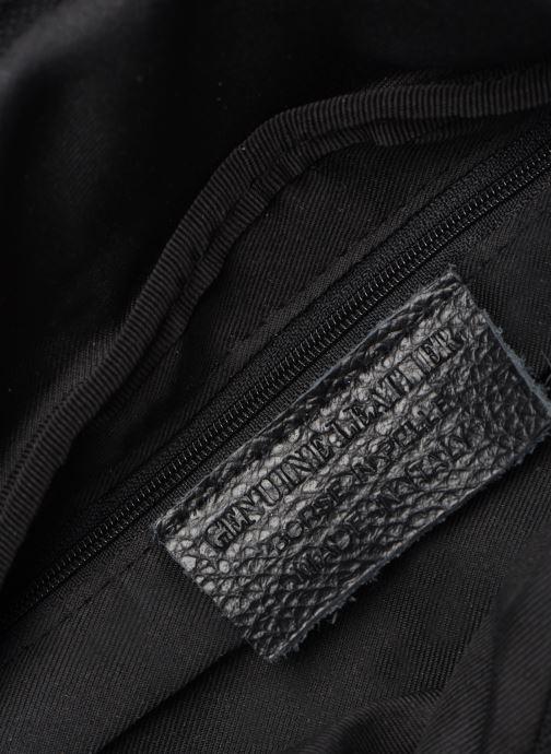 Petite Maroquinerie Georgia Rose Mabanane Leather Noir vue derrière