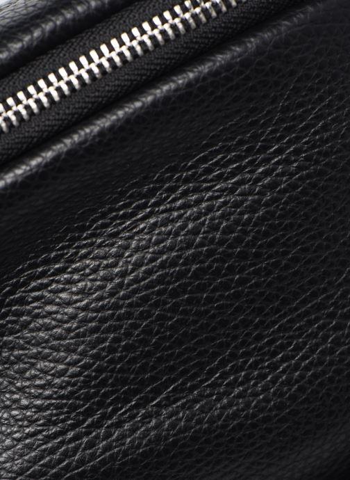Sacs à main Georgia Rose Mabanane Leather Noir vue gauche