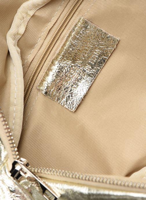 Kleine lederwaren Georgia Rose Mabanane Leather Goud en brons achterkant