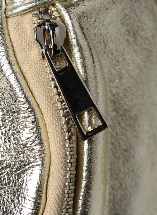 Marroquinería pequeña Georgia Rose Mabanane Leather Oro y bronce vista lateral izquierda
