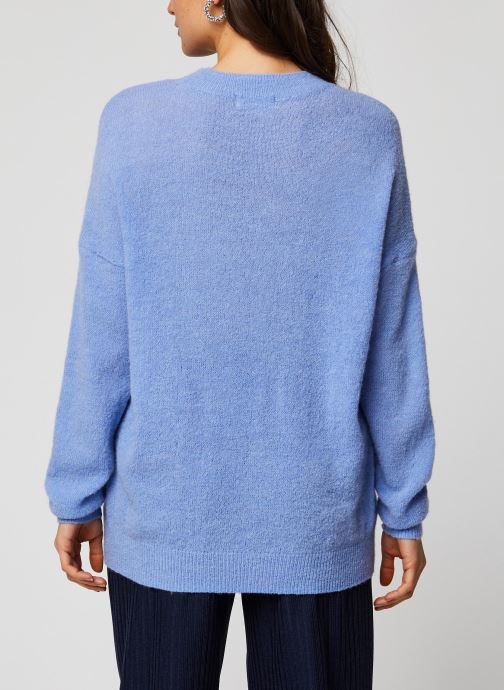 MOSS COPENHAGEN Pull - Femme Alpaca Pullover (Violet) - Vêtements(404489)