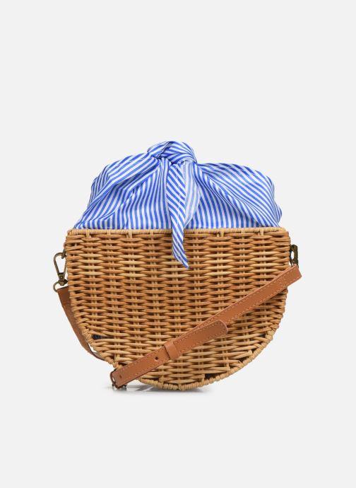 Handtaschen I Love Shoes LINEAU braun ansicht von vorne
