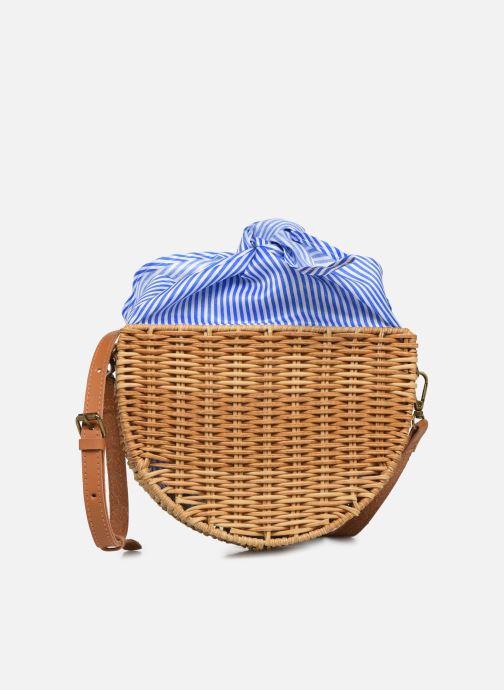 Handtassen I Love Shoes LINEAU Bruin detail