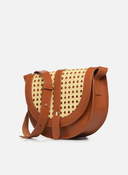 Handtaschen I Love Shoes LINAGE braun schuhe getragen