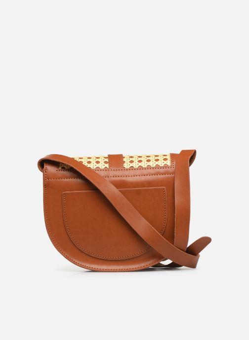 Handtaschen I Love Shoes LINAGE braun ansicht von vorne