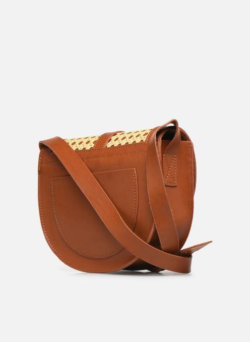 Handtaschen I Love Shoes LINAGE braun ansicht von rechts