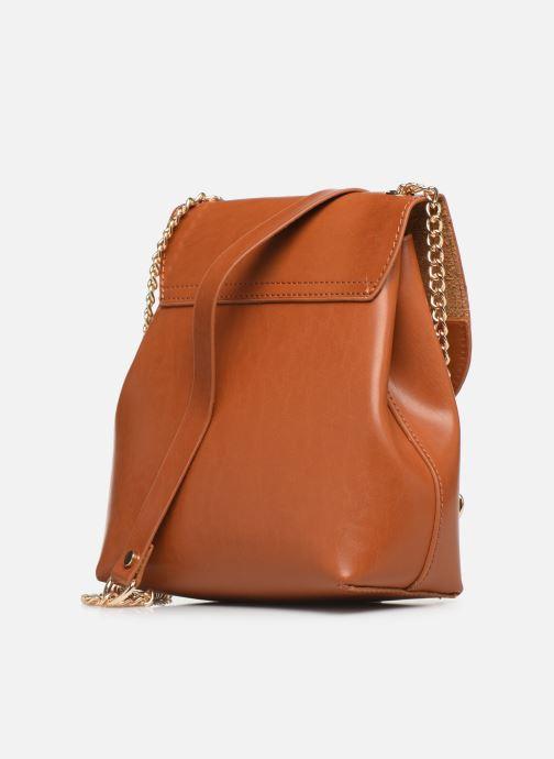 Handtaschen I Love Shoes LIMELO braun ansicht von rechts