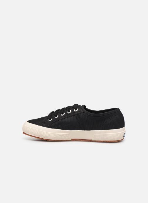 Sneakers Superga 2750 Cotu C W C Zwart voorkant