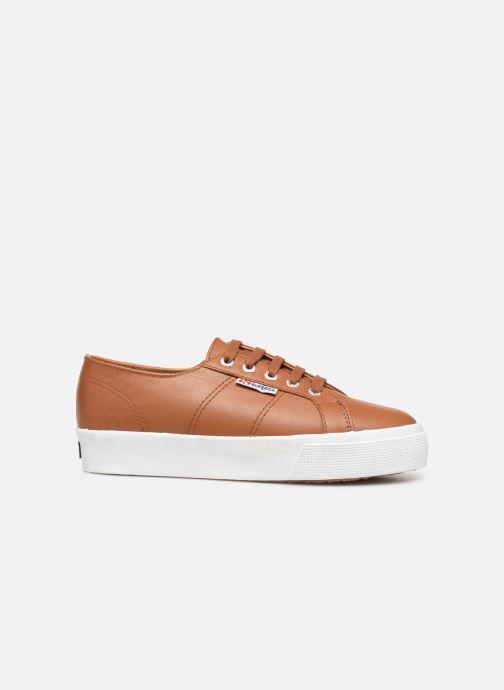 Sneakers Superga 2730 Nappa Leau C Bruin achterkant