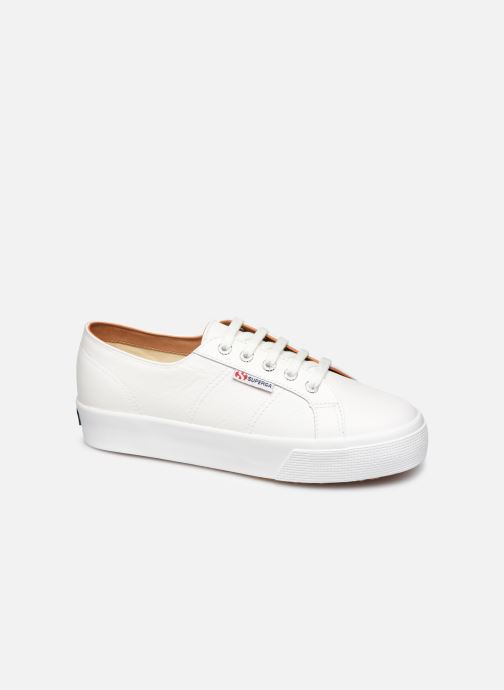 Sneakers Superga 2730 Nappa Leau C Wit detail