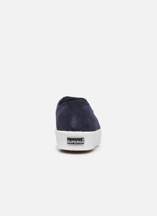 Sneakers Superga 2730 Sueu C Blauw rechts