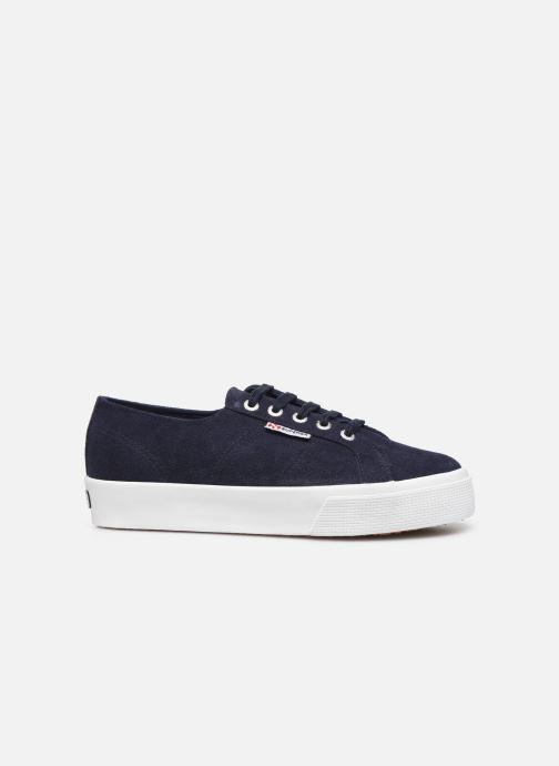 Sneakers Superga 2730 Sueu C Blauw achterkant