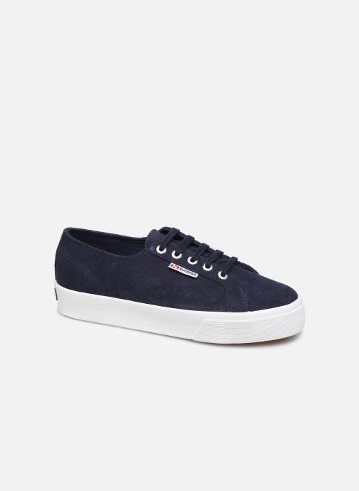 Sneakers Superga 2730 Sueu C Blauw detail