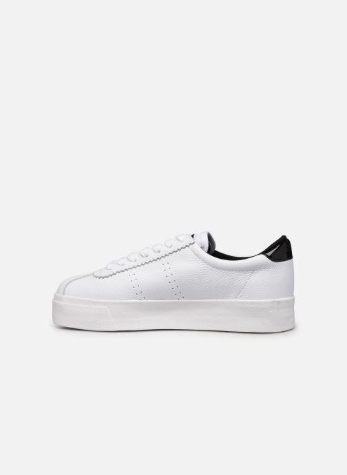 Sneakers Superga 2854 Club 3 Lea W C Wit voorkant