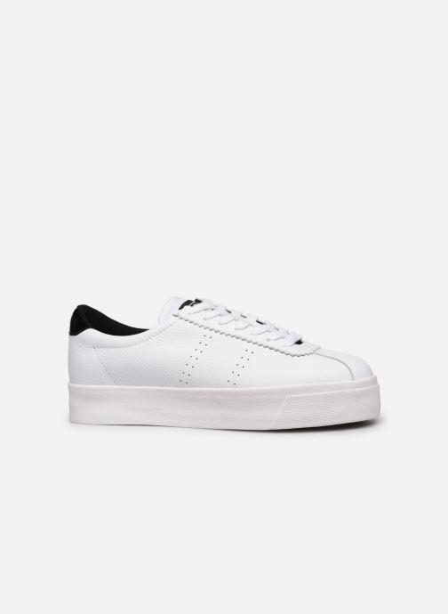Sneakers Superga 2854 Club 3 Lea W C Wit achterkant